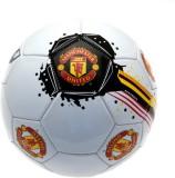 Manchester United F.C. Fblmugs Football -   Size: 5,  Diameter: 20 cm (Pack of 1, White, Black)