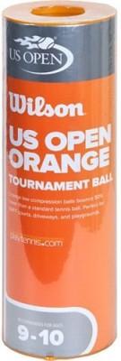 Wilson U.S. Open Orange Tournament Tennis Ball -   Size: 2,  Diameter: 6.86 cm