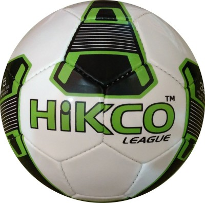 Hikco League Green Football -   Size: 5,  Diameter: 22 cm