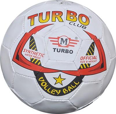 TURBO CLUB (SINGLE COLOUR) Volleyball -   Size: 4,  Diameter: 68.5 cm