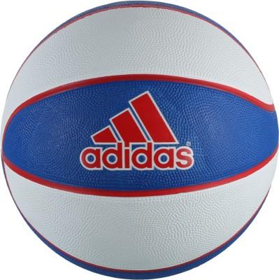 Adidas Camp Ball Rubbe Gym Ball - Size: 7, Diameter: 24.23 cm(Blue)