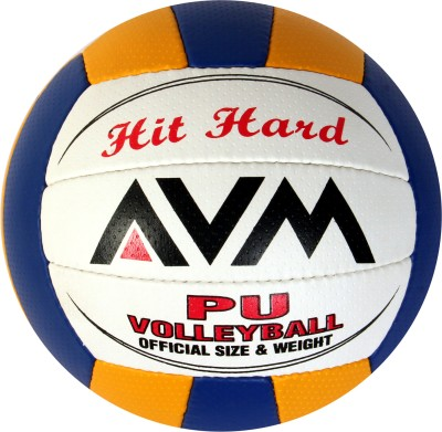 AVM Hit Hard Pu Volleyball -   Size: Standard,  Diameter: 23 cm