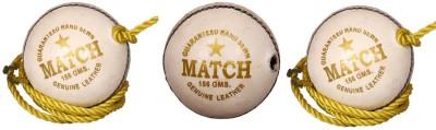 Priya Sports PCROPEWHITE-3 Cricket Ball -   Size: 5,  Diameter: 2.24 cm