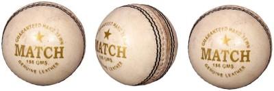 Priya Sports PCWHITE-3 Cricket Ball -   Size: 5,  Diameter: 2.24 cm