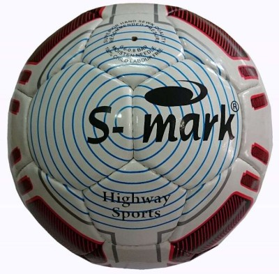 S-Mark Supreme (White) Football -   Size: 5,  Diameter: 22 cm