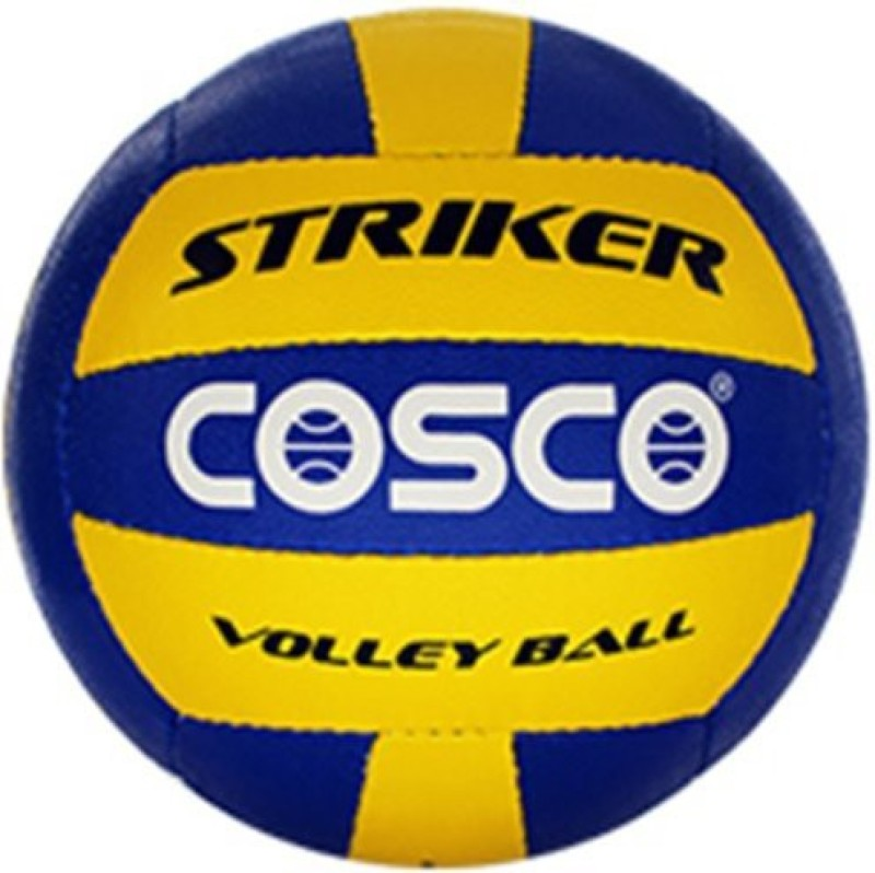 Cosco Striker Volleyball -   Size: 4,  Diameter: 20.7 cm(Pack of 1, Assorted)