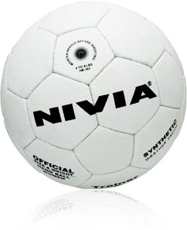 Nivia Trainer Synthetic Sub Junior Handball -   Size: 3,  Diameter: 2.5 cm(Pack of 1, White)