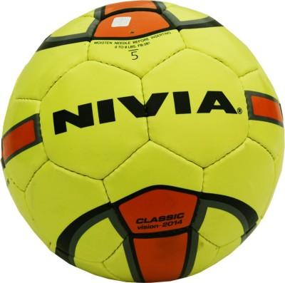 Nivia Classic Green Football -   Size: 5,  Diameter: 2.5 cm