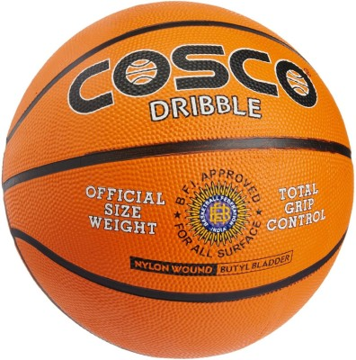 Cosco Dribble Basketball -   Size: 7,  Diameter: 32 cm