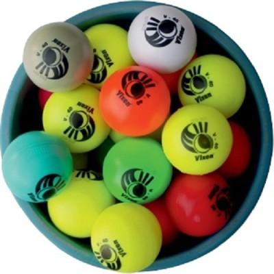Vixen Practice Cricket Ball - Size: 2, Diameter: 2.5 cm(Pack of 1, Multicoloured)
