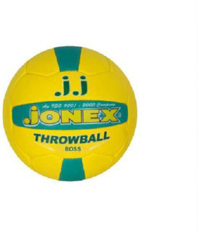 JJ Jonex BOSS Throw Ball -   Size: 5,  Diameter: 22 cm(Pack of 1, Multicolor)