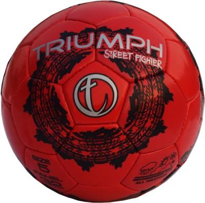 Triumph Street Fighter Red Football -   Size: 5,  Diameter: 22 cm