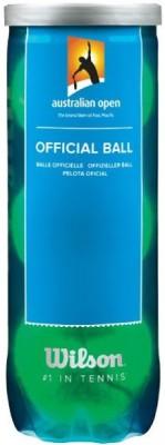 Wilson Australian Open Tennis Ball -   Size: Standard,  Diameter: 1 cm