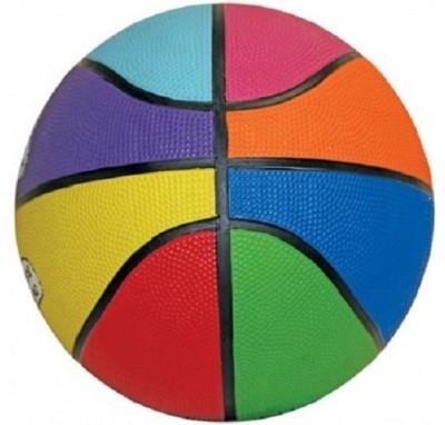 Cosco Multi Graphics Basketball -   Size: 3,  Diameter: 23 cm