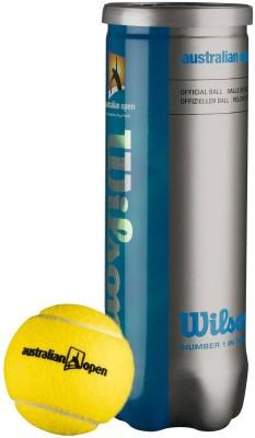 Wilson Australian Open Tennis Ball -   Size: 1,  Diameter: 2.5 cm