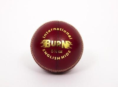 Burn International Cricket Ball -   Size: 5,  Diameter: 2.5 cm