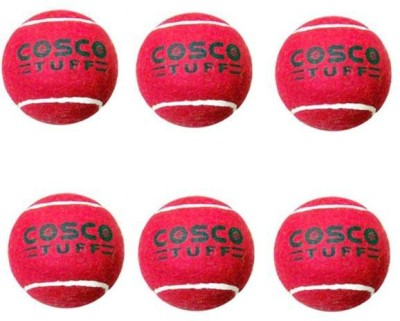 Cosco Tuff Cricket Ball - Size- 5, Diameter- 7.3 cm
