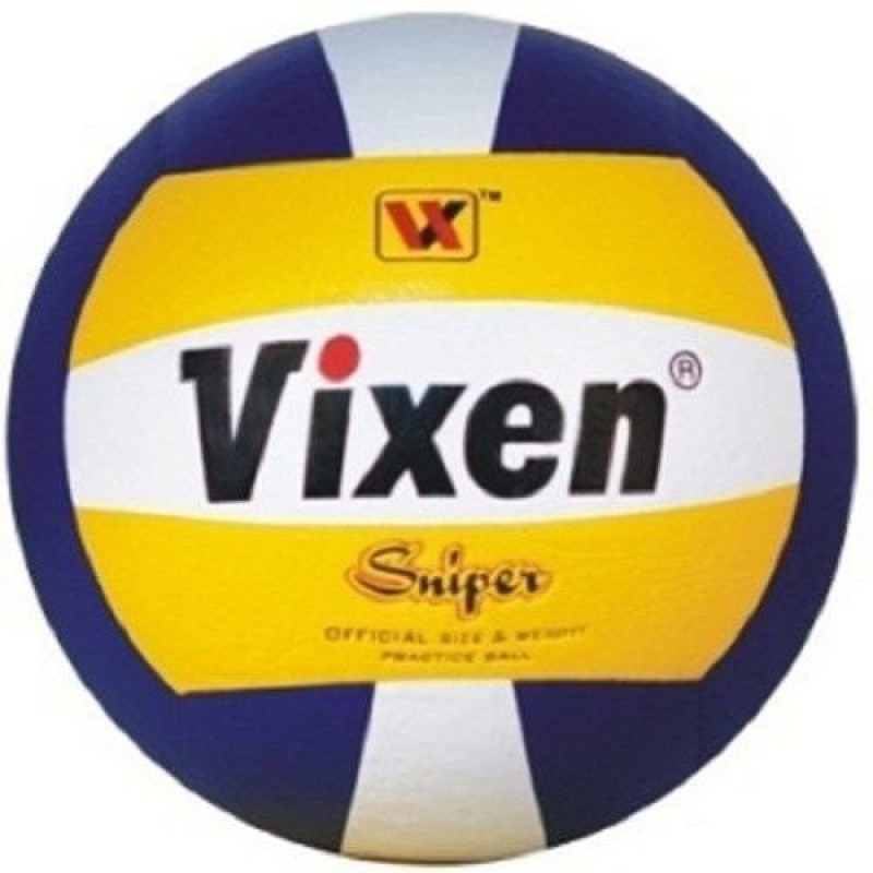 Vixen Sniper Volleyball -   Size: 4,  Diameter: 20 cm(Pack of 1, Multicolor)