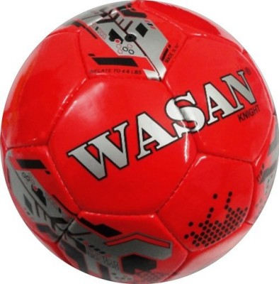 Wasan Knight Football - Size: 5, Diameter: 70 cm(Pack of 1, Red)