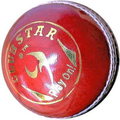 SM Club Star Cricket Ball -   Size: 5,  Diameter: 2.5 cm