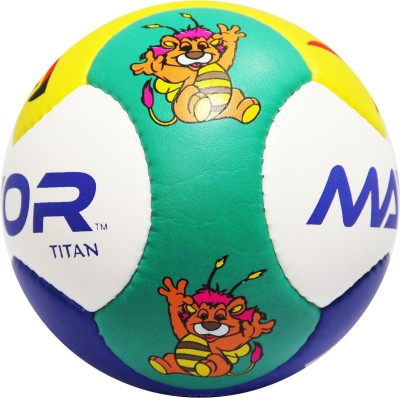 Mayor Titan Mini Ball Football - Size: 1, Diameter: 13.7 cm(Pack of 1, Multicolor)