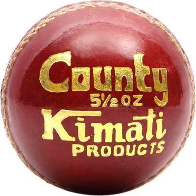 Kimati County Cricket Ball -   Size: NA,  Diameter: 6.5-6.75 cm