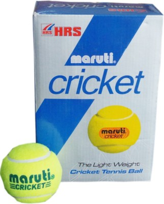 HRS Maruti Cricket Cricket Ball -   Size: Full,  Diameter: 6.4 cm