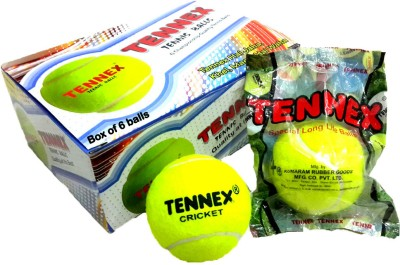 Tennex Cricket Tennis Light Cricket Ball - Size- Standard, Diameter- 6 cm