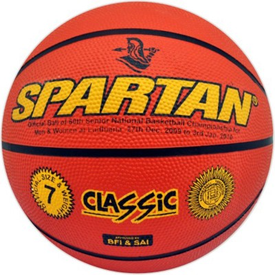 Spartan CLASSIC Basketball - Size: 6, Diameter: 2.5 cm(Pack of 1, Multicolor)