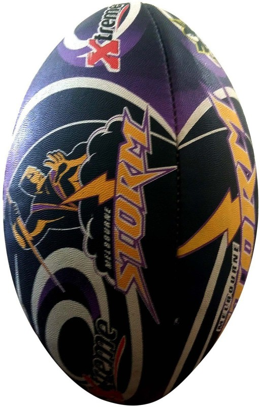 Firefly Xtreme Rugby Ball -   Size: 5,  Diameter: 25 cm(Pack of 1, Multicolor)