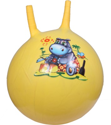 Metro Sports Hopping and Boucing Jumping Ball -   Size: 120,  Diameter: 60 cm