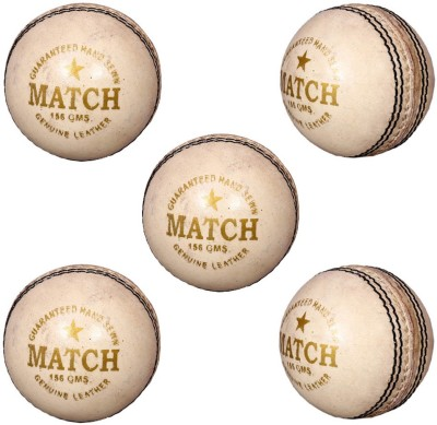 Priya Sports White Cric Cricket Ball -  ...