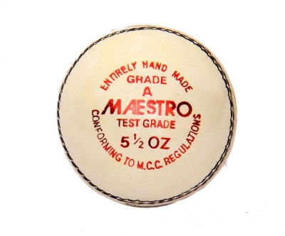 CW Maestro Leather Cricket Ball -   Size: Full Size,  Diameter: 22 cm