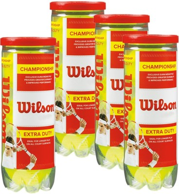 Wilson Championship Extra Duty Tennis Ball -   Size: 1,  Diameter: 4 cm
