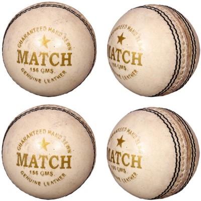 Priya Sports White Cric Cricket Ball -   Size: 5,  Diameter: 2.5 cm