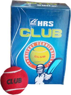 HRS club Cricket Ball -   Size: Full,  Diameter: 6.4 cm