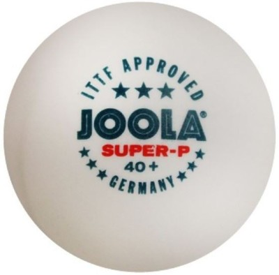 Joola Super-P 3 Star Plastic Ping Pong Ball -   Size: 4,  Diameter: 4 cm