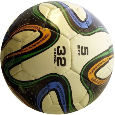 Facto Power Tricolor Football -   Size: 5,  Diameter: 22 cm