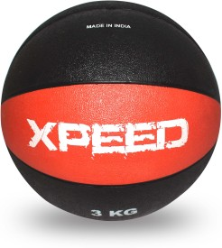 Xpeed Rubber Moulded Medicine Ball - Size: 6, Diameter: 6 cm(Pack of 1, Multicolor)