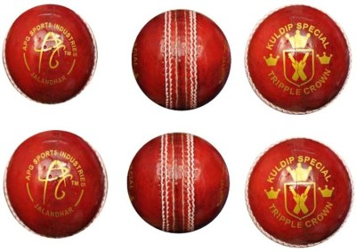 APG TRIPPLE CROWN Cricket Ball -   Size: 5,  Diameter: 7 cm