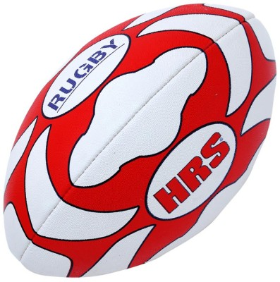 HRS Club Rugby Ball -   Size: 5,  Diameter: 24 cm