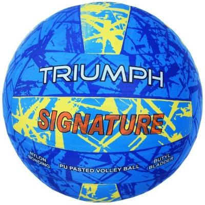 Triumph Signature PU Moulded Volleyball -   Size: 4,  Diameter: 21 cm