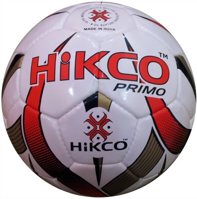 Hikco Primo Football - Size: 5, Diameter: 22 cm(Pack of 1, Multicolor)