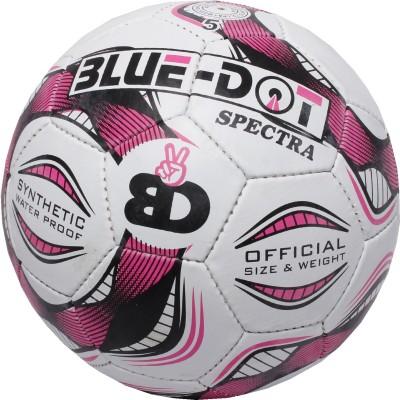 Blue Dot Spectra Football -   Size: 5,  Diameter: 21 cm