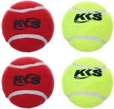 KKS AS Tennis Balls Cricket Ball - Size- 3, Diameter- 3 cm