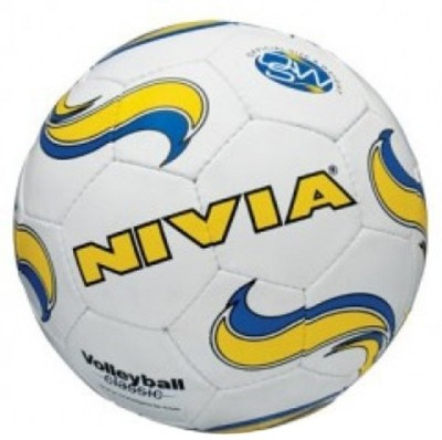 Nivia Classic Volleyball-4 Volleyball - Size- 4, Diameter- 10.5 cm