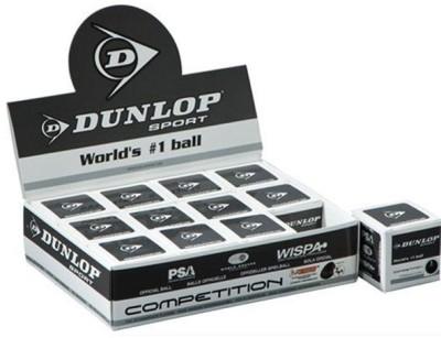 Dunlop Single Dot Squash Ball Squash Ball - Size- 40, Diameter- 40 mm