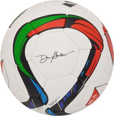 Lionbuzz PU Football - Size: 5, Diameter: 22 cm(Pack of 1, White)