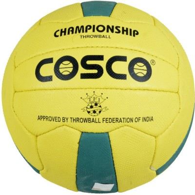 Cosco Championship Throw Ball - Size: 4, Diameter: 18 cm(Pack of 1, Multicolor)