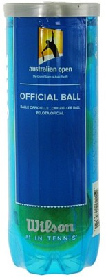 Wilson Australian Open Tennis Ball -   Size: 3,  Diameter: 5 cm